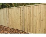 Forest Garden Pressure Treated Acoustic Fence Panel - 6 x 6ft Pack of 4 5013053167700
