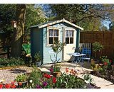 Shire 10 X 10 Ft Avesbury Traditional Garden Summerhouse With Opening Window 5060490133164