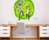 Rick And Morty Portal Worm Hole Wall Sticker Decal Home Art Mural Cut Out WC23  Does not apply