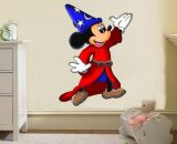Mickey Mouse Wizard Fantasia Disney Decal Removable Wall Sticker Home Decor Art  Does Not Apply