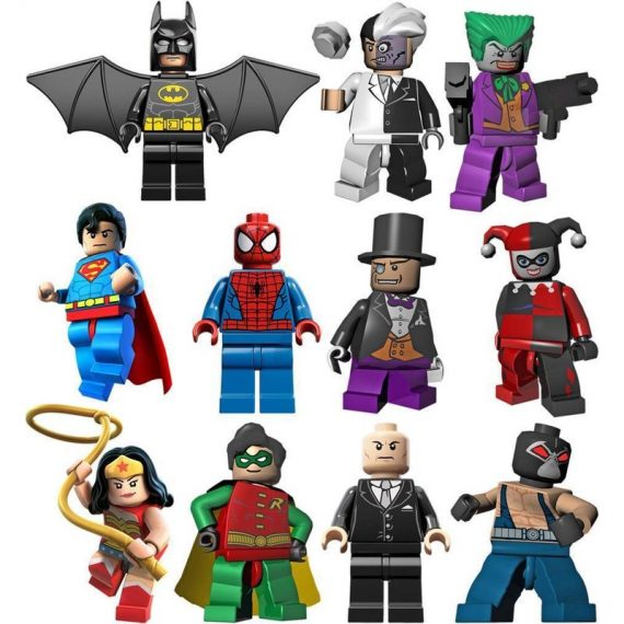 LEGO BATMAN 11 CHARACTERS Decal Removable WALL STICKER Home Decor Art ROBIN  Does Not Apply