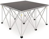 1m x 1m Portable Stage Kit by Gear4music 60cm 5055888819058 60STAGEKIT-1M