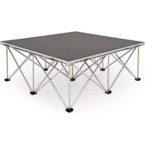 1m x 1m Portable Stage Kit by Gear4music 40cm 5055888819041 40STAGEKIT-1M