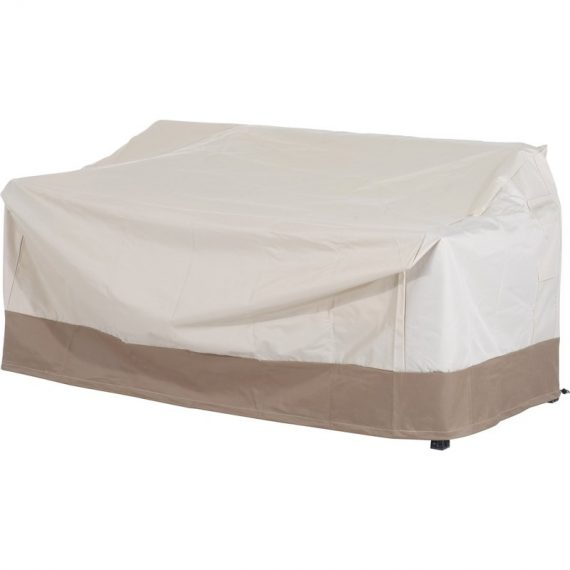 Outsunny Waterproof Furniture Cover For 3 Seat Rattan Sofa